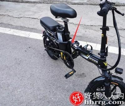 interlace,1# - 美国英格威折叠电动自行车GT5,小型电动车锂电池代驾电瓶车助力代步车