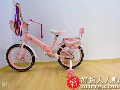 interlace,1# - 贝琦童儿童自行车,升级折叠车架小孩脚踏车16-18寸宝宝童车