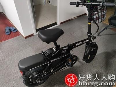 interlace,1# - 新日折叠电动自行车,锂电池可上牌助力代步电瓶车小型车代驾车